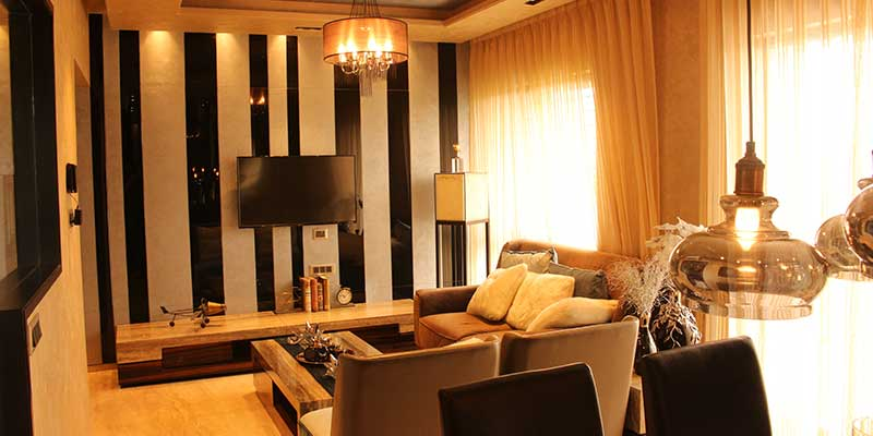 Living Area - Valora Towers
