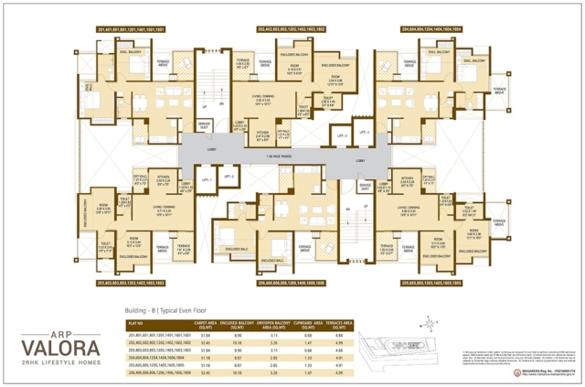 Floor Plan 1 - Valora Towers