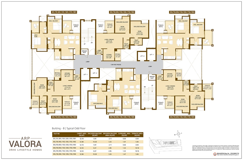 Floor Plan 2 - Valora Towers