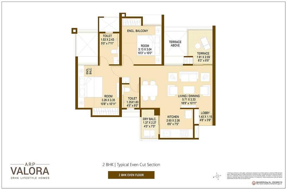 Floor Plan 3 - Valora Towers