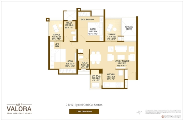 Floor Plan 4 - Valora Towers